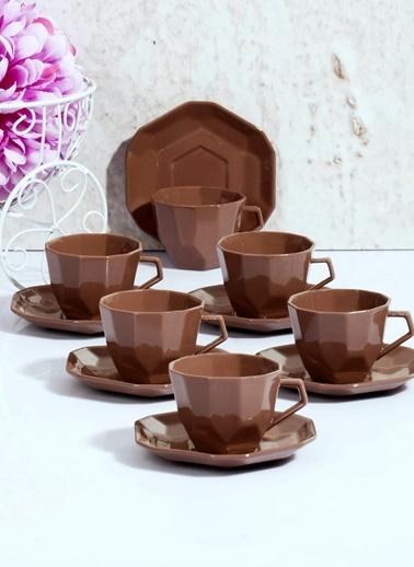 Porselen 6'lı Kahve Fincan Takımı-Kitchen World